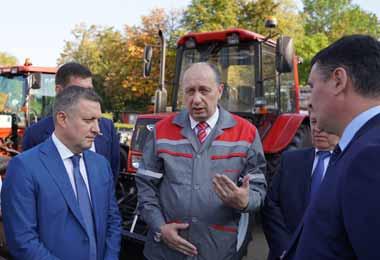 МТЗ и Иркутская область договорились о стратегическом сотрудничестве