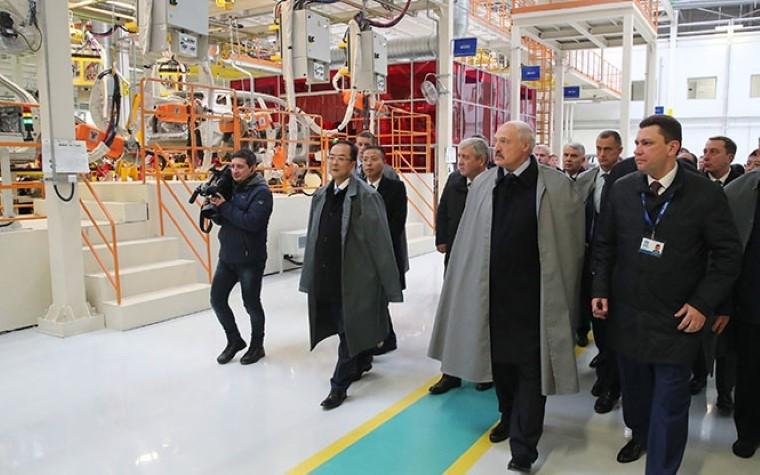 Зазавод «БелДжи» лично поблагодарю СиЦзиньпина— Лукашенко