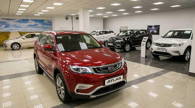С начала года в Беларуси было реализовано 1,541 тыс автомобилей Geely Atlas. Фото abw.by