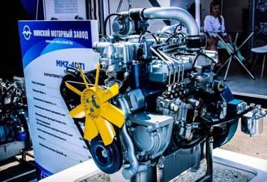 ММЗ планирует запустить новую линейку двигателей в 2021 г