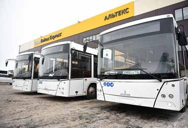 МАЗ поставил три новых автобуса в Набережные Челны