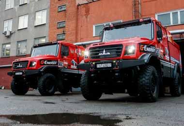 МАЗ отправил грузовики на Дакар-2021