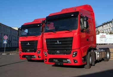 МАЗ нарастил объемы продаж грузовиков в России в сентябре 2020 г