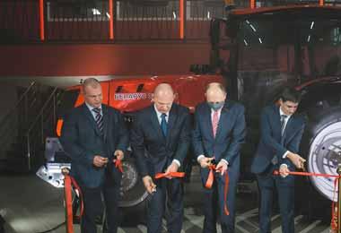 МТЗ открыл фирменную аудиторию в Новосибирском аграрном университете