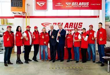 МТЗ открыл в Саратовской области первый гипермаркет оригинальных запчастей к своей технике