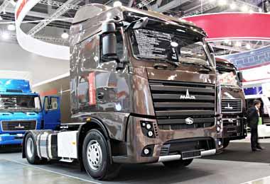 МАЗ занял четвертое место на рынке грузовиков в России по итогам августа 2020 г